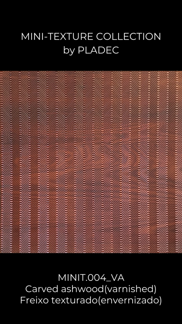 A wood pattern with a wavy texture. This panel is composed of simple lines, closed by each other, that create an amazing wood pattern.