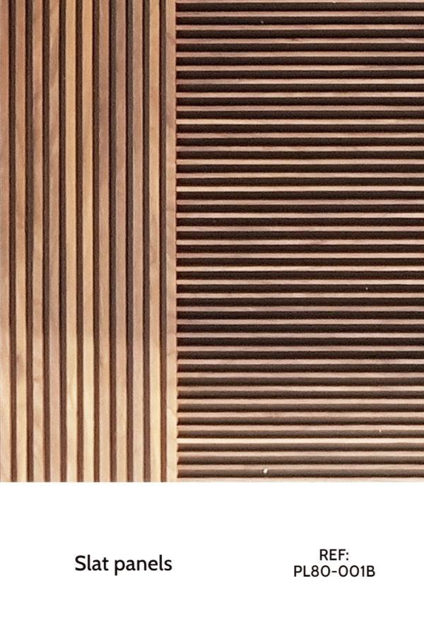 wood wall stripes