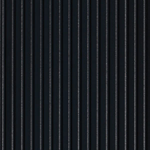 A panel made from CNC machined MDF. Painted in black, this panel is composed by vertical lines.