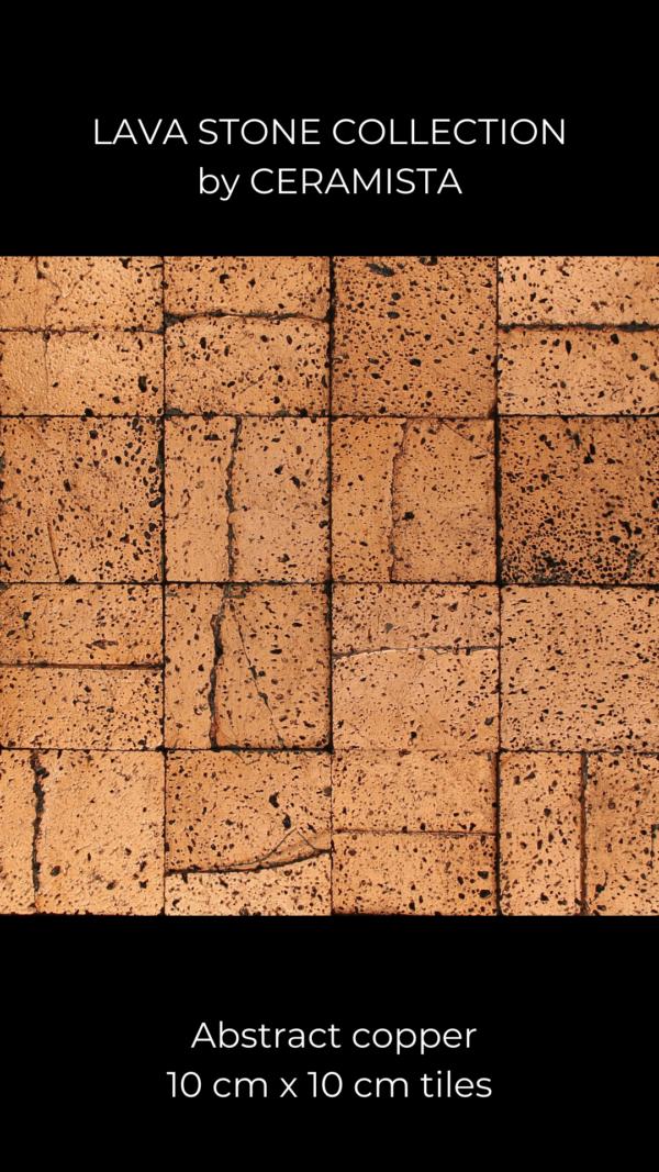 Copper Lava Stone