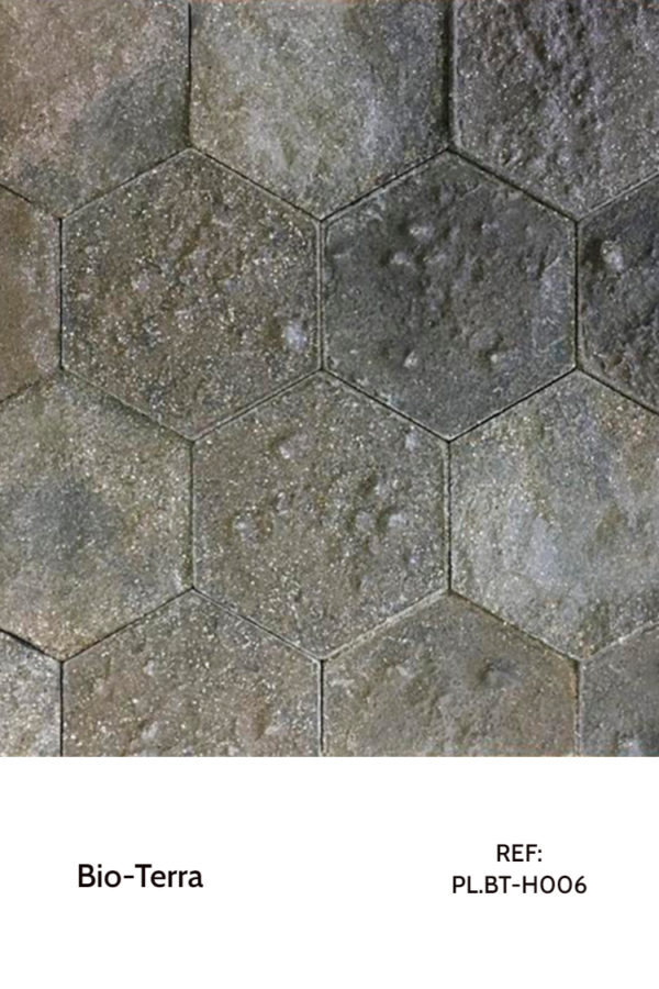 Recycled panels - A panel made from earth and other natural elements.