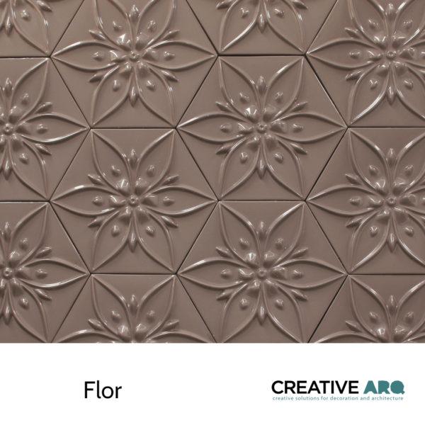3d wall tile design that works for backsplashes and feature walls. Um design em cerâmica para aplicação em paredes, criando paredes cerâmicas incríveis. Azulejos interessantes, tridimensionais