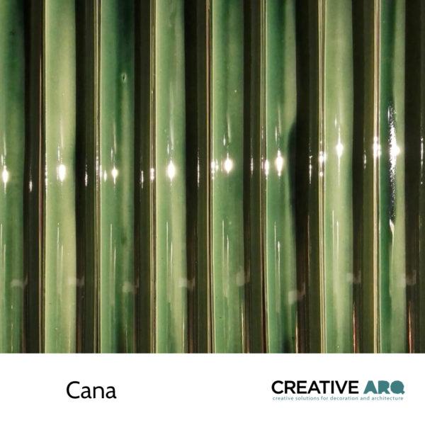 Cana 3d wall tile - tridimensional ceramic tile, inspired by the form of sugar canes. Cana- um azulejo cerâmico para aplicação em paredes, que tem a sua inspiração em canas-de-açúcar.