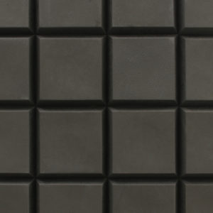 CHOC tile, a ceramic tile with a pattern that resembles chocolate.