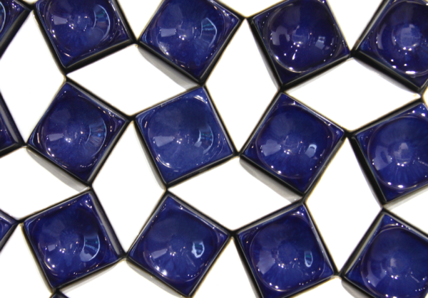 Cubite and Orione, combined in a arranged pattern