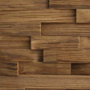 A wood surface composed of different wood strips, organized on a horizontal layout.