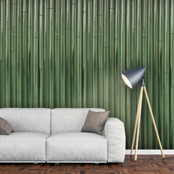 Cana, a green tile inspired by the natural shapes of sugar canes.