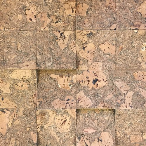 A cork panel for surfaces like walls or funitures